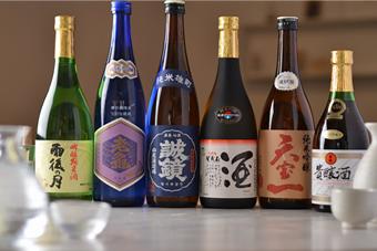 広島の地酒もご用意しております。