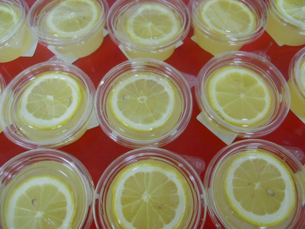 広島レモンのくずゼリー ~はちみつレモン入り~