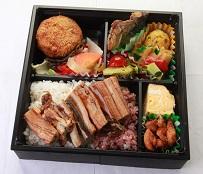 穴子入り弁当   ~AGRIの会議弁当 ダントツ1番人気~