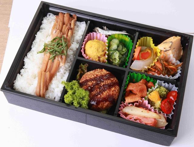 AGRI彩り弁当(煮穴子)